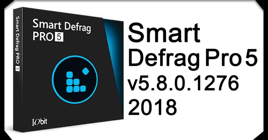 IObit SmartDefrag Pro 5.8 — 6.0 активированный
