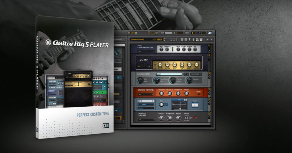 Ключ активации Guitar Rig Pro 2017