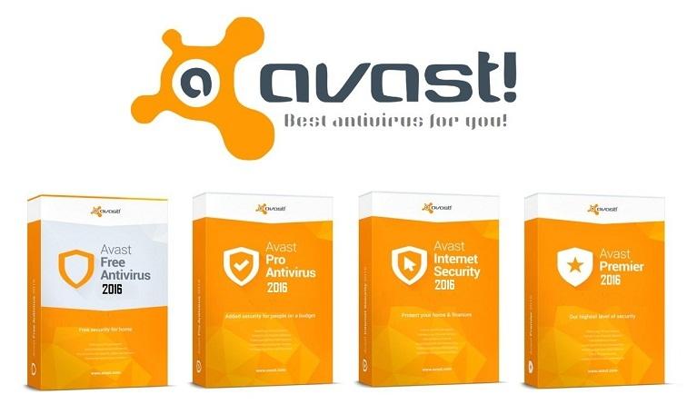 ключи Avast