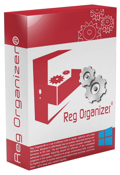 ключ Reg Organizer
