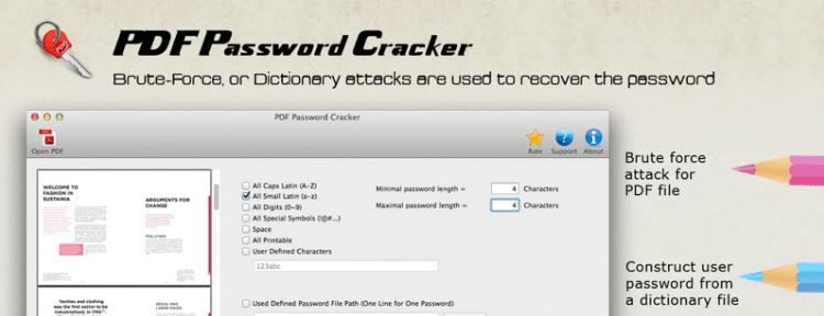 Скачать PDF Password Cracker